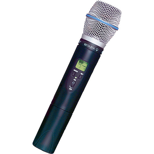 Shure ULX2/BETA87A UHF Handheld Transmitter with BETA 87A Mic Head (J1: 554 to 590 MHz)