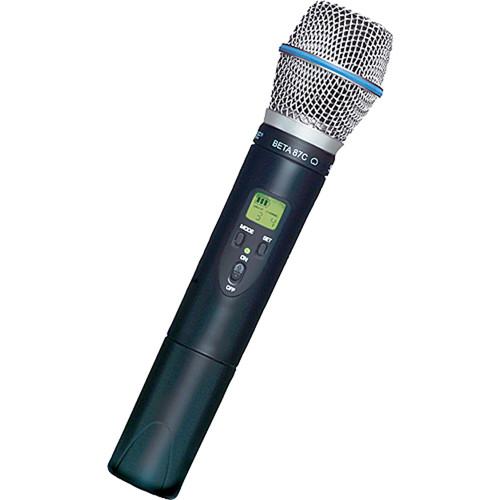Shure ULX2 (G3) UHF Handheld Transmitter with Beta 87C Microphone Head