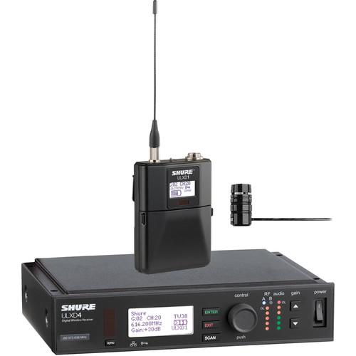Shure ULX-D Digital Wireless Lavalier Microphone System