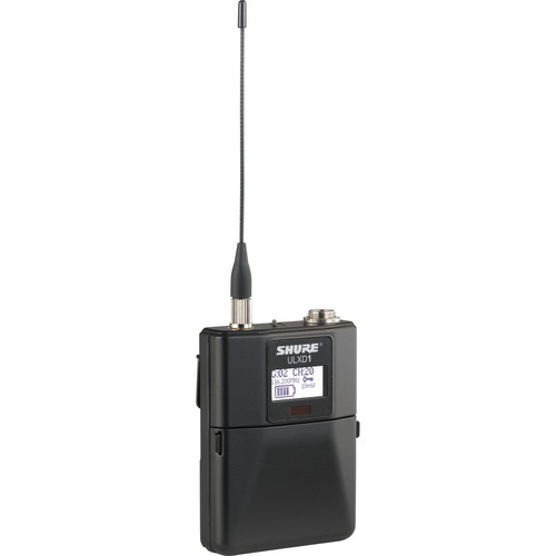 Shure ULXD1 Wireless Bodypack Transmitter (G50 / 470 to 534 MHz)