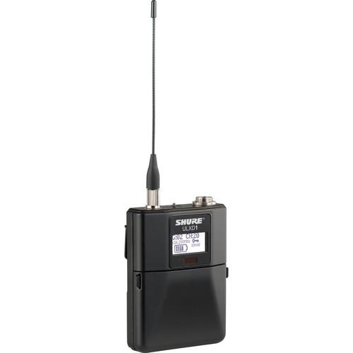 Shure ULXD1 Wireless Bodypack Transmitter (J50 / 572 to 636 MHz)
