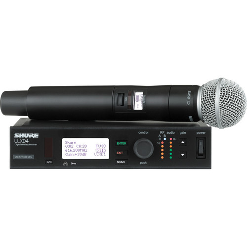 Shure ULX-D Digital Wireless Handheld Microphone System