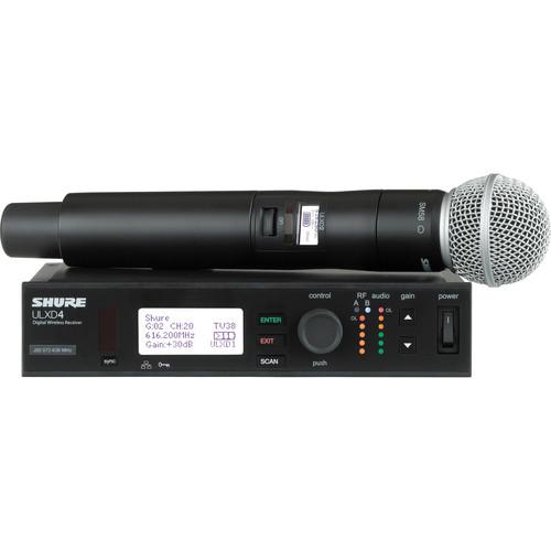 Shure ULX-D Digital Wireless Handheld Microphone System
