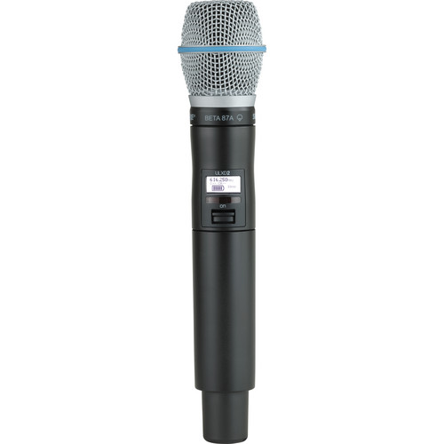 Shure ULXD2 Handheld Transmitter with Beta 87A Microphone Capsule (G50)