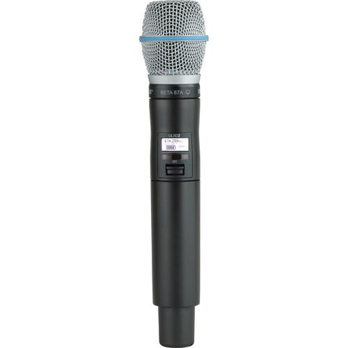 Shure ULXD2 Handheld Transmitter with Beta 87A Microphone Capsule (J50)