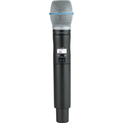 Shure ULXD2 Handheld Transmitter with Beta 87A Microphone Capsule (L50)
