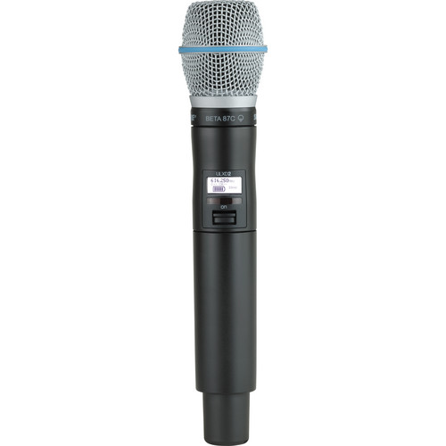 Shure ULXD2 Handheld Transmitter with Beta 87C Microphone Capsule (J50)