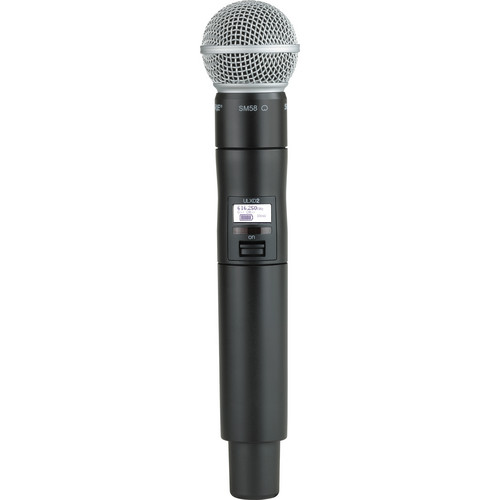 Shure ULXD2/SM58 Digital Handheld Wireless Microphone Transmitter with SM58 Capsule (G50: 470 to 534 MHz)
