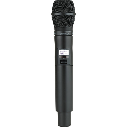 Shure ULXD2 Handheld Transmitter with SM87A Microphone Capsule (G50)