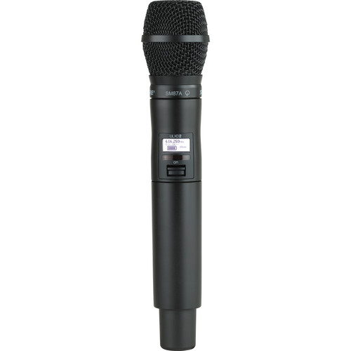Shure ULXD2 Handheld Transmitter with SM87A Microphone Capsule (J50)