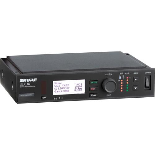 Shure ULXD4 Digital Wireless Receiver (J50: 572-636 MHz)