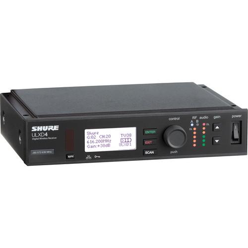 Shure ULXD4 Digital Wireless Receiver (L50: 632-696 MHz)