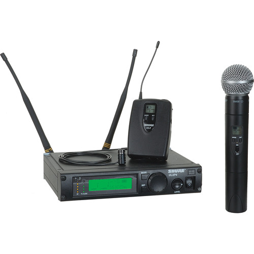 Shure ULX Professional Series - Wireless Dual Mixed Microphone System (Frequency J1 / 554 - 590 MHz)