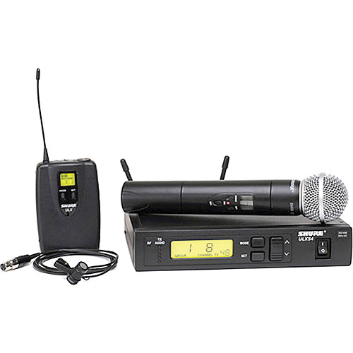 Shure ULXS124/85 Wireless Combo Microphone System (J1: 554 to 590 MHz)