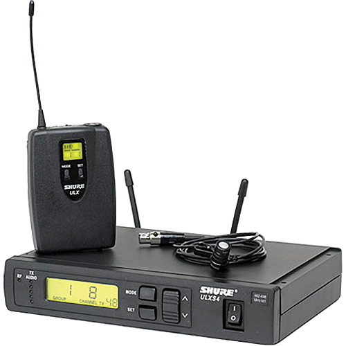 Shure ULX Professional Series ULXS14/85 Wireless Lavalier Microphone System (G3: 470 to 505 MHz)
