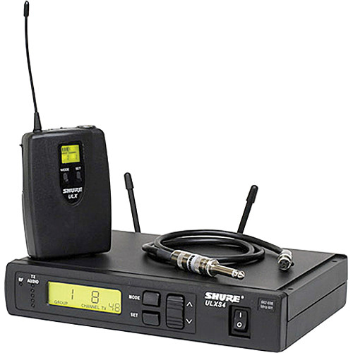 Shure ULXS14 Wireless Guitar System (G3: 470 to 506 MHz)