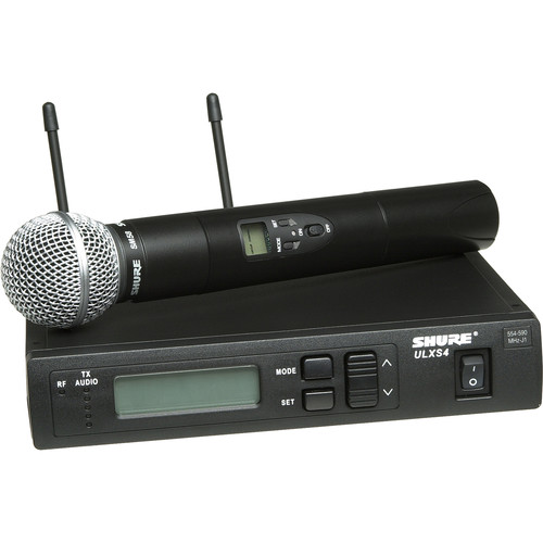Shure ULX Standard Series - Wireless Handheld Microphone System
