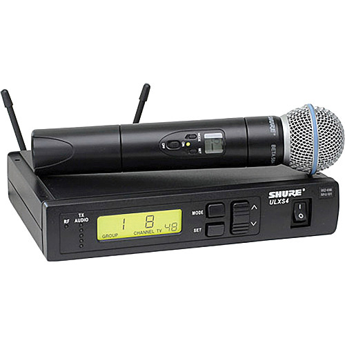 Shure ULX Standard Series - Wireless Handheld Microphone System