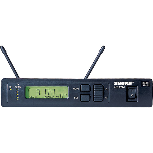 Shure ULXS4 Standard Wireless Receiver with PS40 (G3 / 470 to 505 MHz)