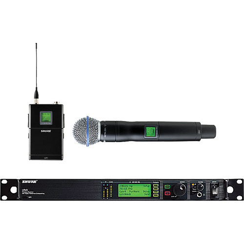 Shure UHF-R Professional Diversity Wireless Microphone System (G1 - 470-530MHz)