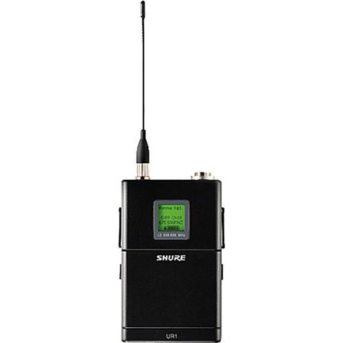 Shure UR1 Body-Pack Transmitter (G1 / 470-530MHz)