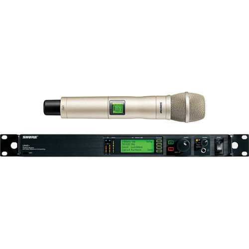 Shure UHF-R Professional Diversity Wireless Microphone System (Champagne)