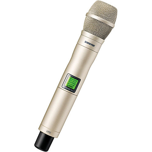 Shure UR2 Handheld Wireless Microphone Transmitter with KSM9 Head (Champagne)