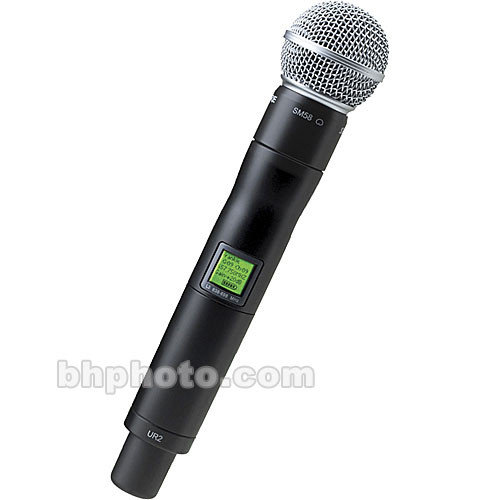 Shure UR2 Handheld Wireless Microphone Transmitter with SM58 Capsule (H4: 518-578 MHz)