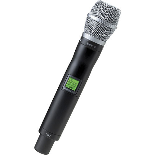 Shure UR2 Handheld Wireless Microphone Transmitter with SM86 Head