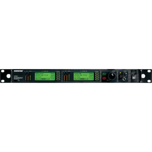 Shure UR4D+ Dual Diversity UHF Wireless Microphone Receiver