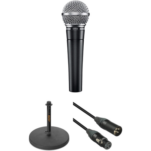 Shure SM58 Dynamic Voice-Over Microphone Kit