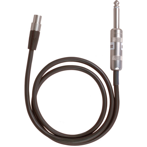 Shure WA302 Intrument & Guitar Cable
