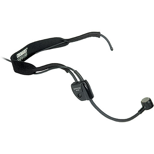 Shure WH20 Headset Mic with XLR Connector for Balanced Mic Output