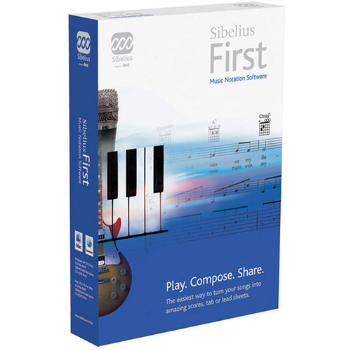 Sibelius Sibelius First Easy Music Notation Software