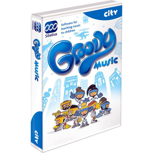 Sibelius Groovy City - Music Concepts Teaching Software - Educational Institution Discount (5 Station Lab Pack)