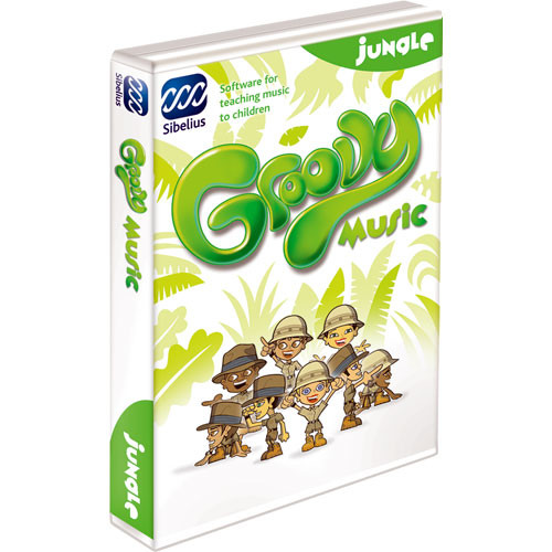 Sibelius Groovy Jungle - Music Concepts Teaching Software - Educational Institution Discount (5 Station Lab Pack)