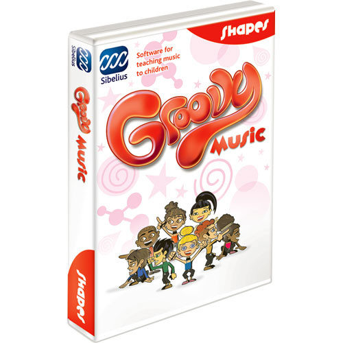 Sibelius Groovy Shapes - Music Concepts Teaching Software - Educational Institution Discount (5 Station Lab Pack)