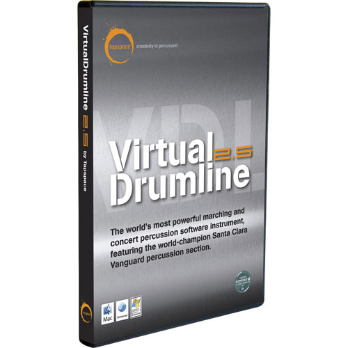Sibelius Virtual Drumline 2.5 - Percussion Software Instrument (5 Station Lab Pack)