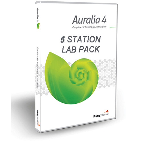 Sibelius Auralia 4 - Training Software (5-Seat Lab Pack)