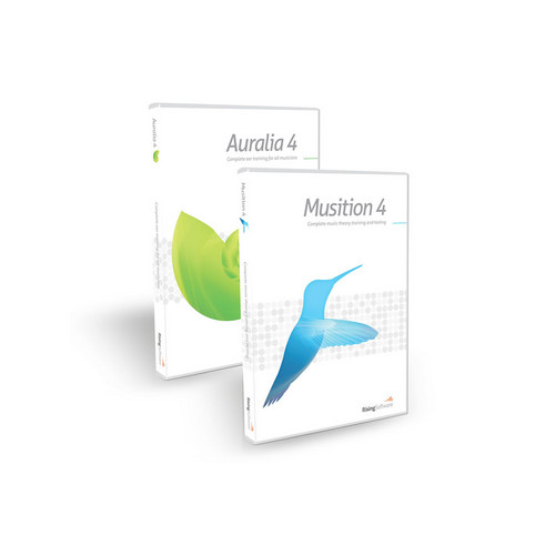 Sibelius Auralia 4/Musition 4 Bundle - Training Software (Educational Institution Discount - 5 Station Lab Pack)