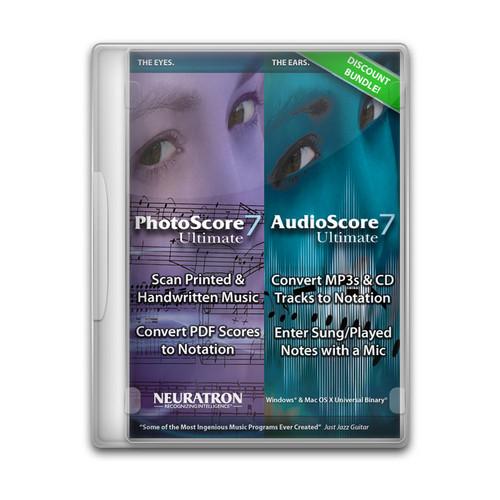 Sibelius PhotoScore Ultimate & AudioScore Ultimate Bundle