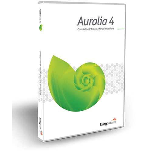 Sibelius Auralia 4 - Training Software (Educational Discount Upgrade)