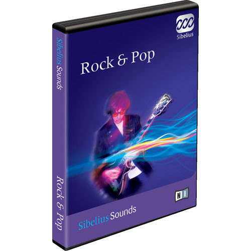 Sibelius Rock & Pop - Sample Library for Sibelius 5 - Educational Institution Discount (Pricing per Seat for 11 to 50 Seats)