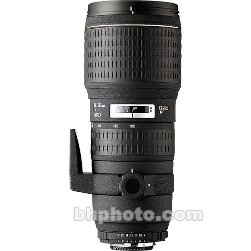 Sigma 100-300mm f/4 EX DG IF HSM Autofocus Lens for Canon EOS