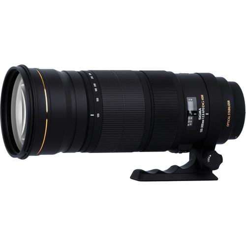 Sigma 120-300mm f/2.8 EX DG OS APO HSM AF Lens (For Canon)