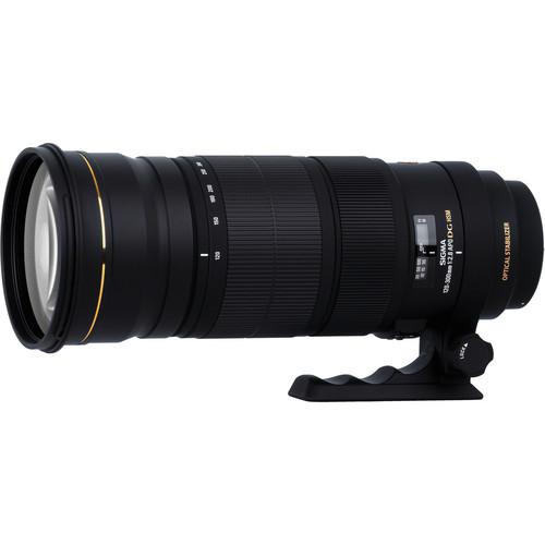 Sigma 120-300mm f/2.8 EX DG OS APO HSM Lens