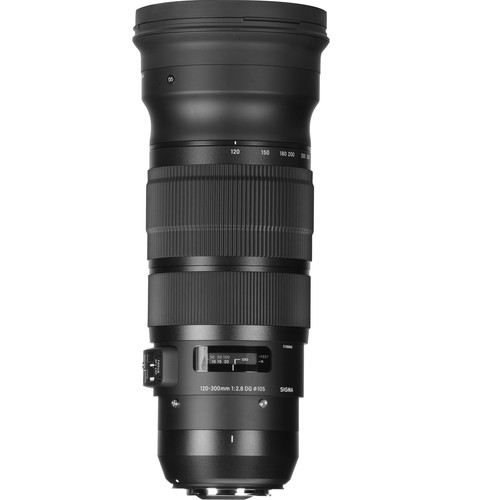 Sigma 120-300mm f/2.8 DG OS HSM Sports Lens for Canon EF