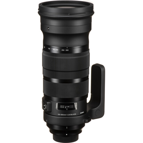 Sigma 120-300mm f/2.8 DG OS HSM Sports Lens for Nikon F