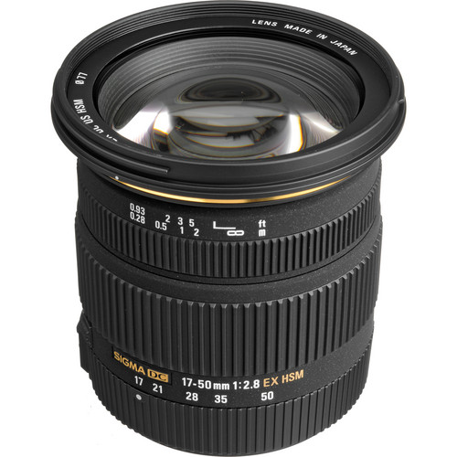 Sigma 17-50mm f/2.8 EX DC HSM Lens for Pentax K