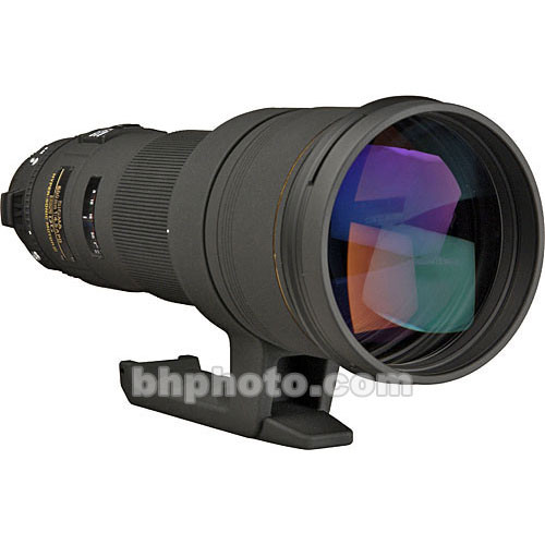 Sigma 500mm f/4.5 EX DG APO Lens for Sony A